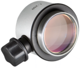 Objective lens WD=250mm with focusing mechanism and sterilizable cap_
