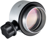 Objective lens WD=300mm with focusing mechanism and sterilizable cap_