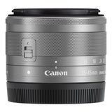 CANON EF-M 15-45MM F/3.5-6.3 IS STM ZILVER_