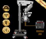 PrimaDNT Microscope Premium, mobile stand, NuVar 20_