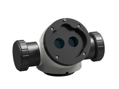 Double beam Splitter, inclined, 50:50