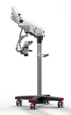 Magna microscope with floor mount