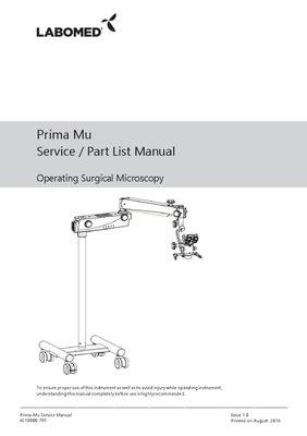 Service Manual Prima Mu