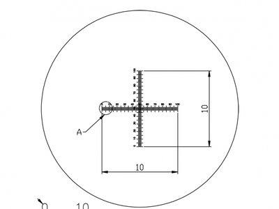 Micrometer reticule