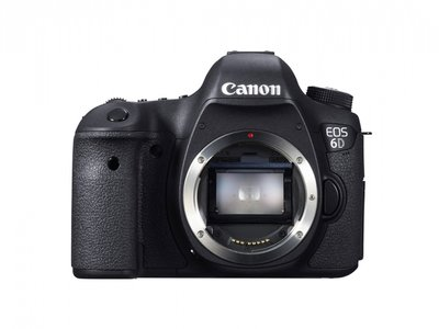 Canon EOS 6D DSLR Body, 20,2Mpixel, Wifi, full frame