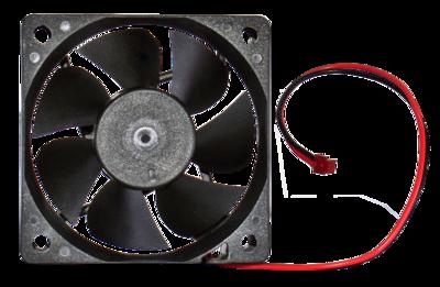 Fan for LED assembly (V-III)