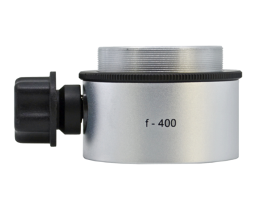 Objective lens WD=400mm with focusing mechanism and sterilizable cap