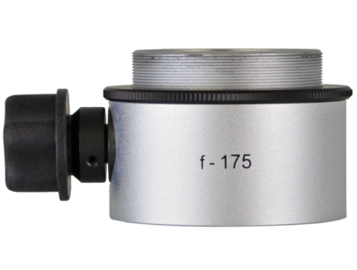 Objective lens WD=175mm with focusing mechanism and sterilizable cap