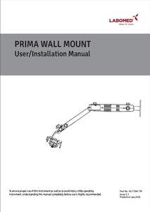 Manual Prima Wall mount installation