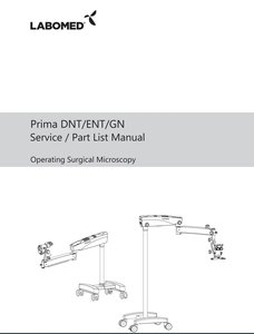 Service Manual Prima DNT, ENT and GN