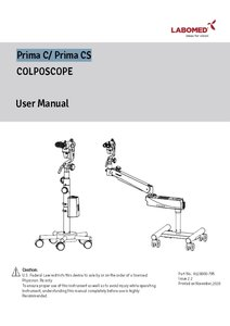 Manual Prima C & Prima CS
