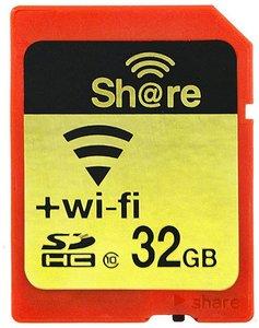 FlashAir 32 GB SD kaart met Wifi