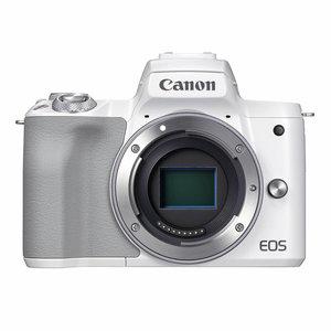 Canon EOS M50 Mark II body, white, 4K video