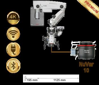 PrimaDNT Microscope Premium, Wall mount, NuVar 10